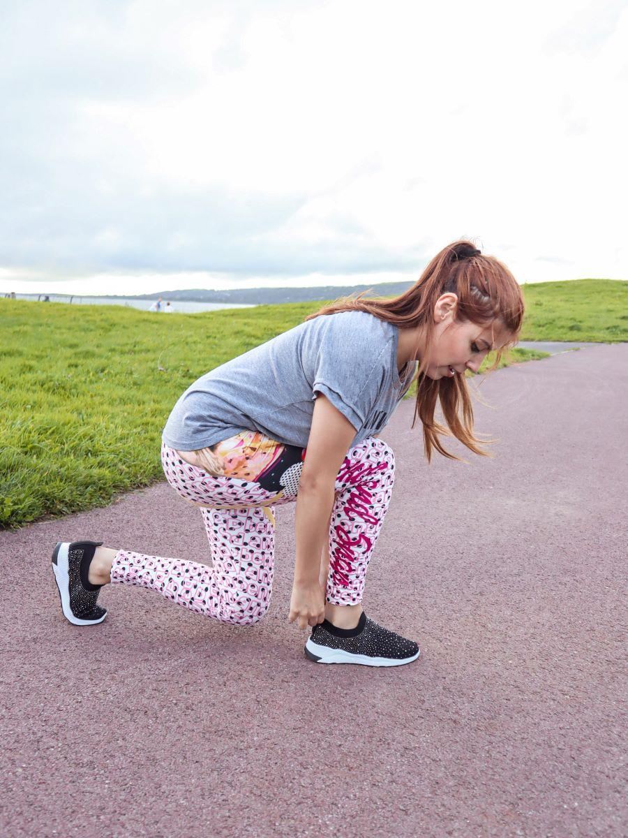 Deborah Ferrero ready to jog