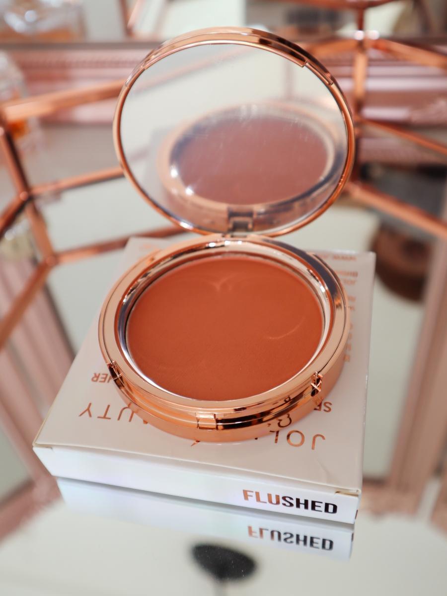 Jolie Beauty Second Skin Powder Blusher shade Flushed