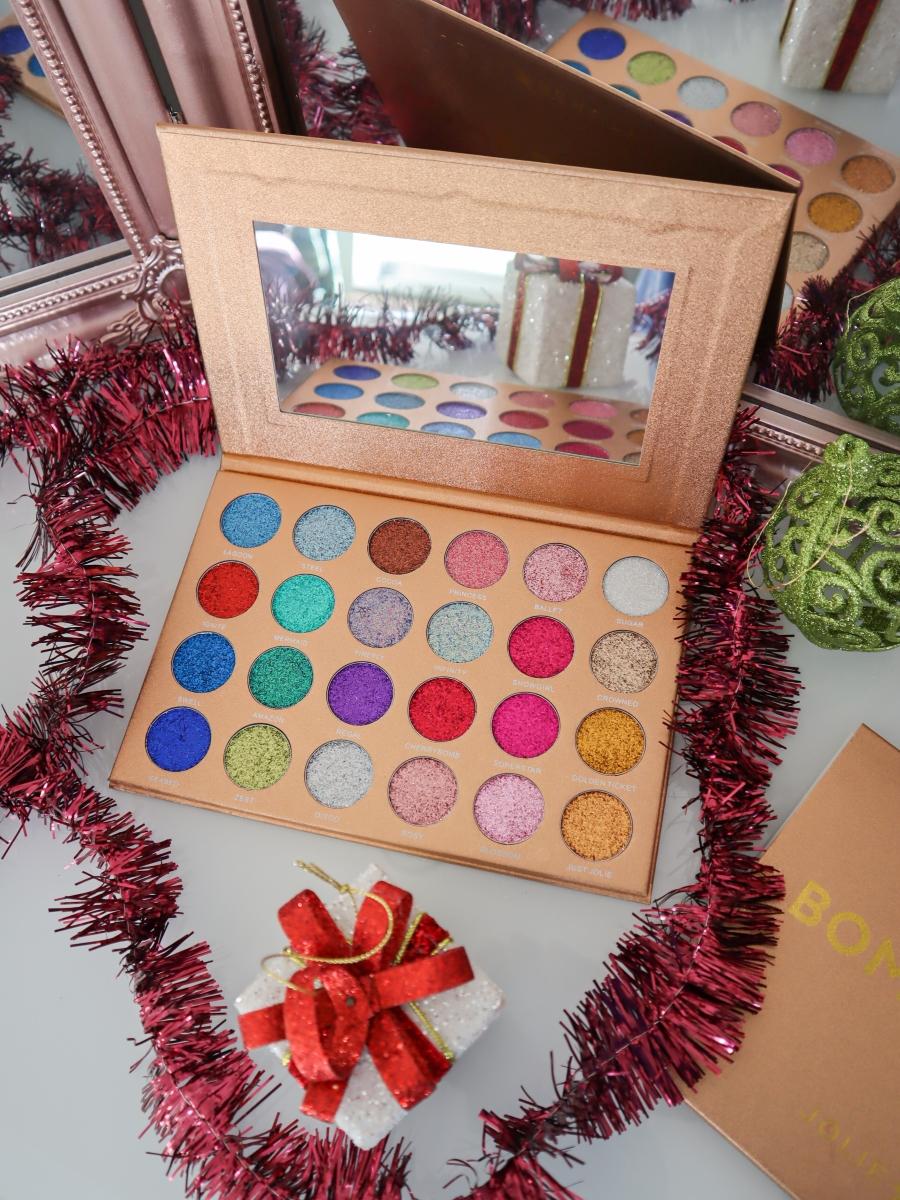 jolie beauty bomb dot com palette review