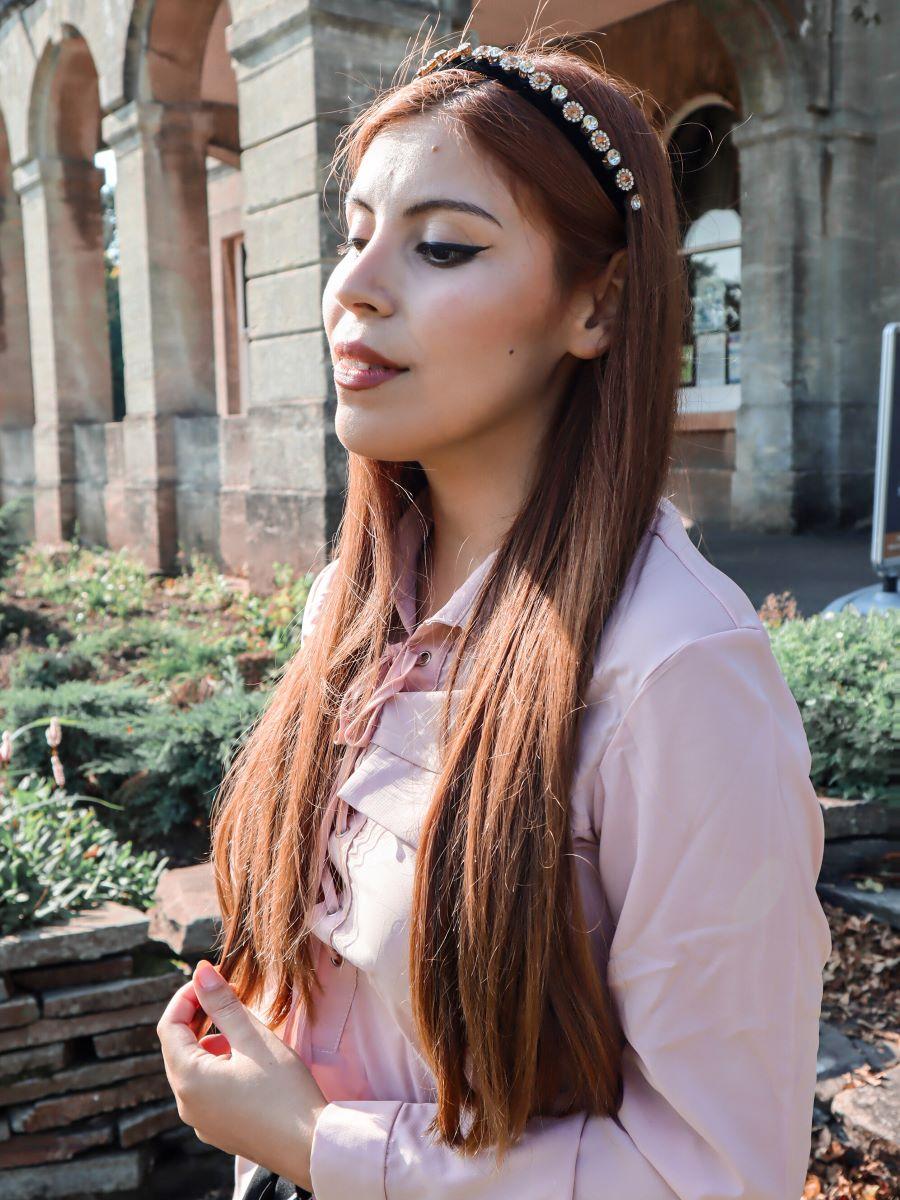 close up debroah ferrero dresslily lace up blouse