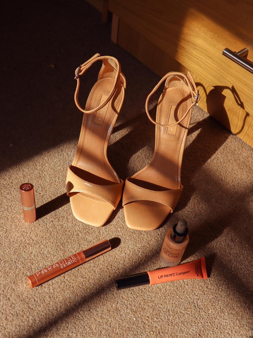 lovethesales nude sandals