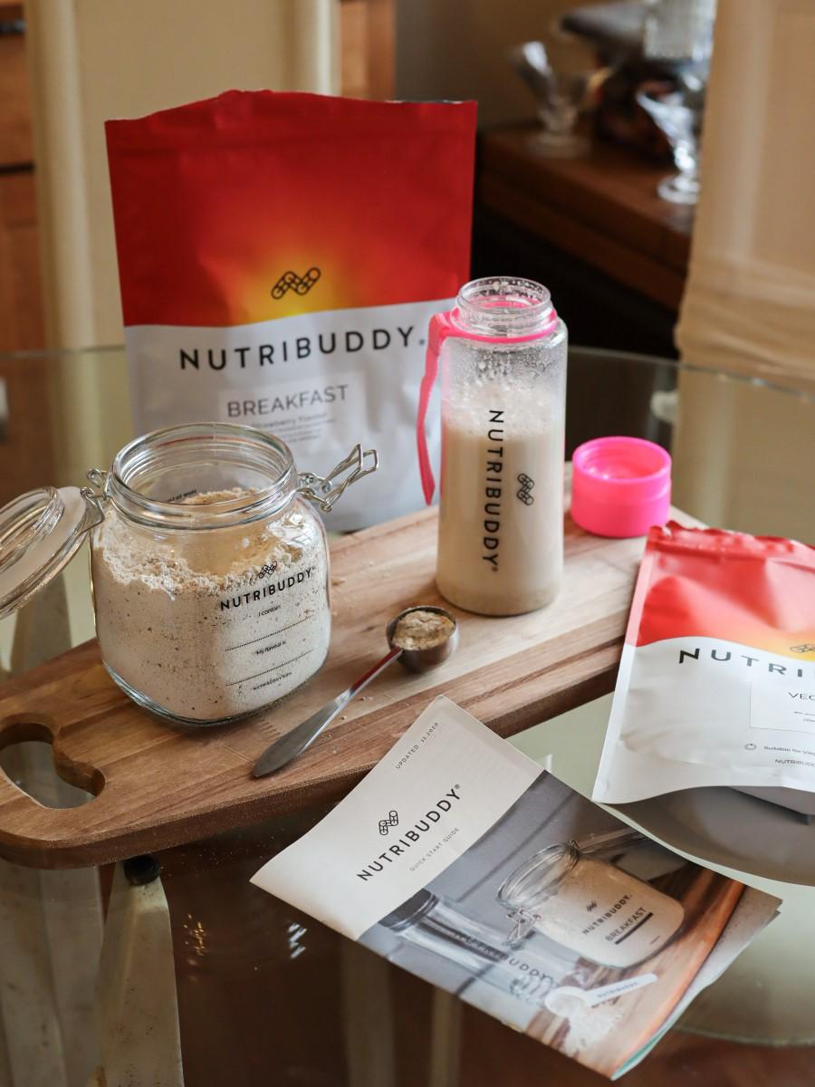 nutribuddy vegan breakfast style by deb photography