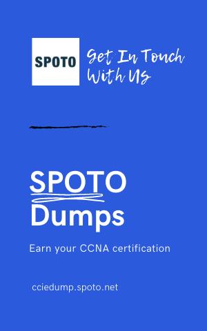 SPOTO CCNA Certification
