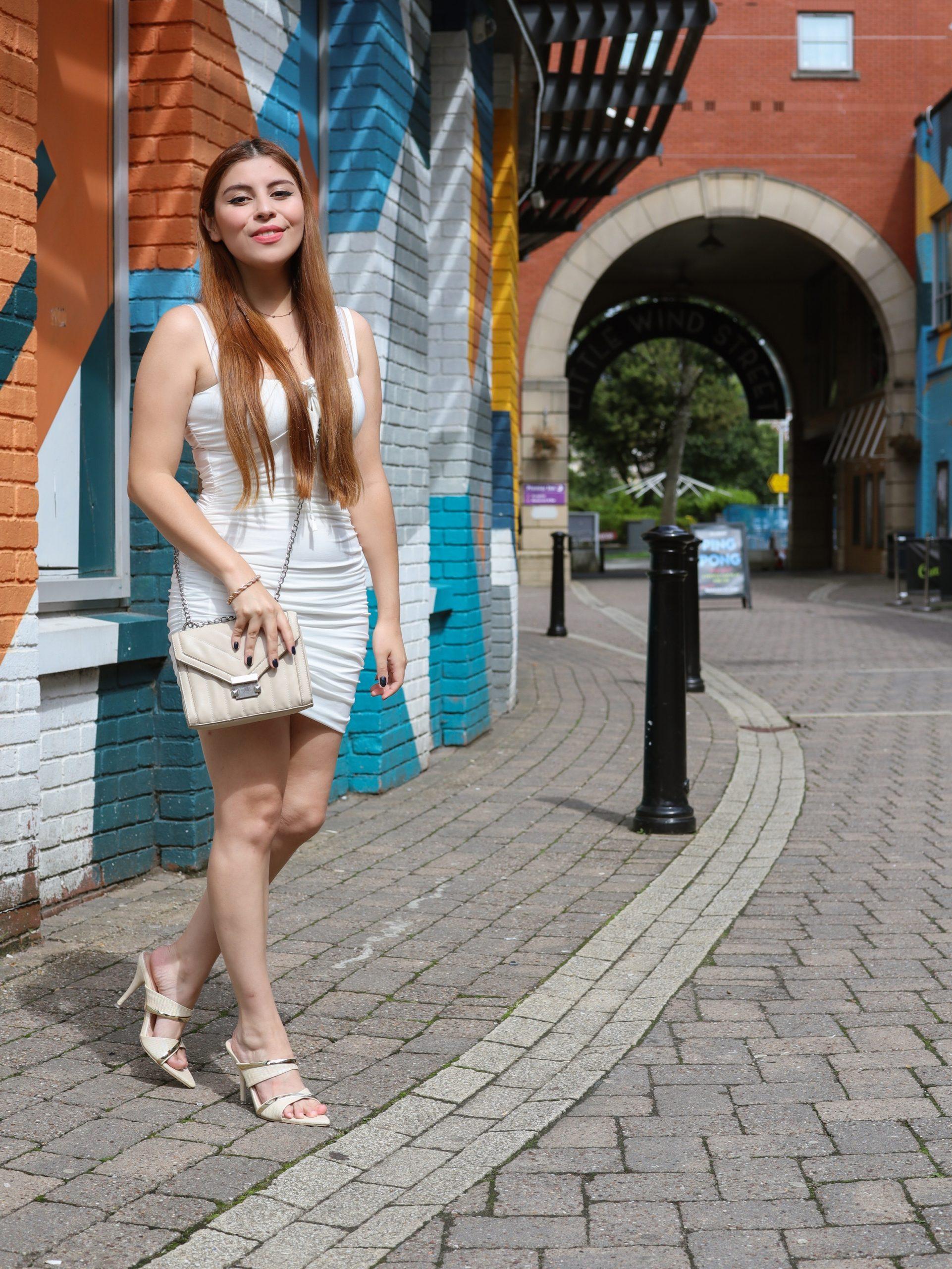 femmeluxe finery white dress review