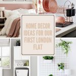 HOME DECOR IDEAS FOR OUR FIRST LONDON FLAT