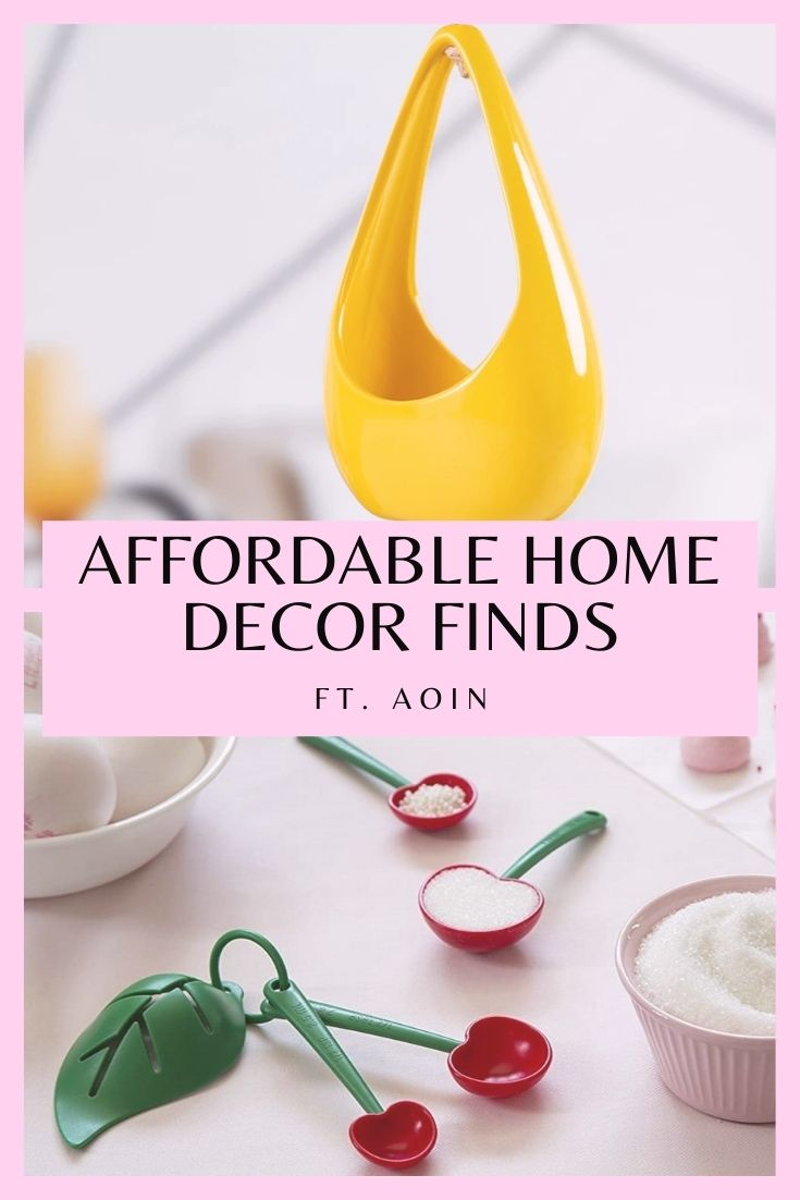 Affordable home decor finds featuring Aoin