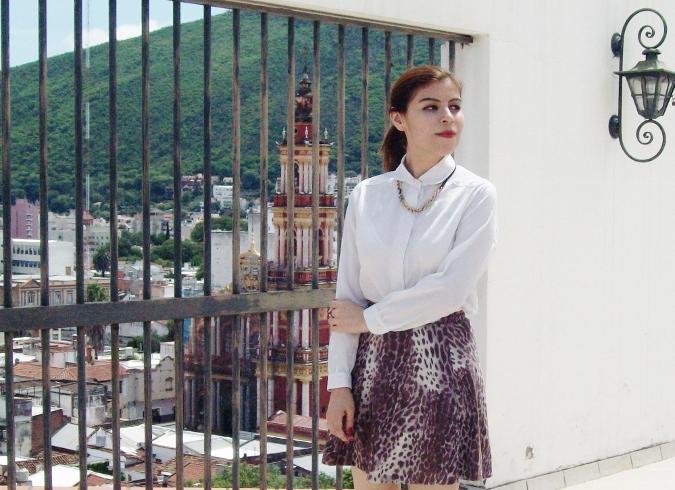 animal-print-skater-skirt-white-shirt-streetstyle-girly13