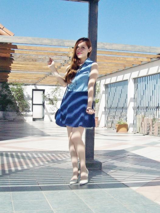 blue-denim-mini-white-streetstyle-summer13
