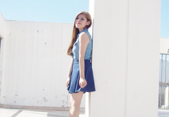 blue-denim-mini-white-streetstyle-summer14