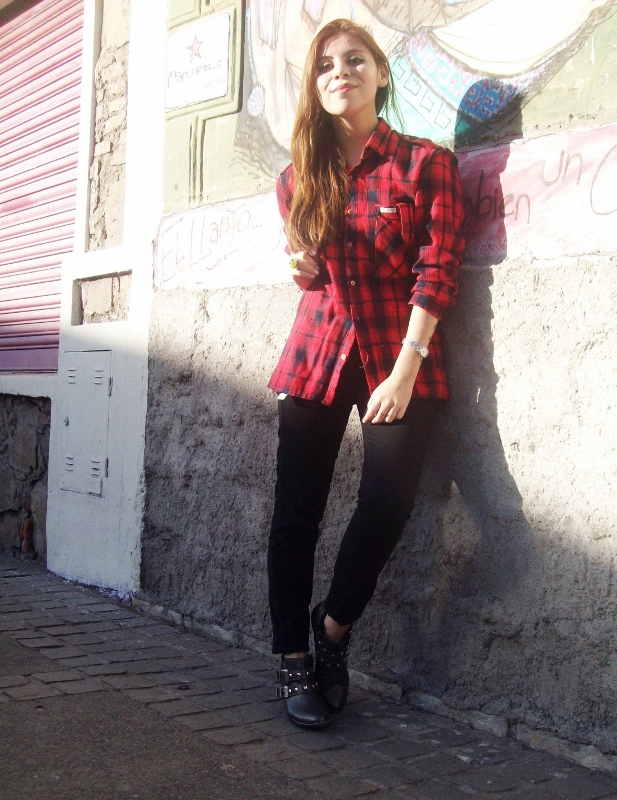 tartan-plaid-booties-blogger-streetstyle-red09