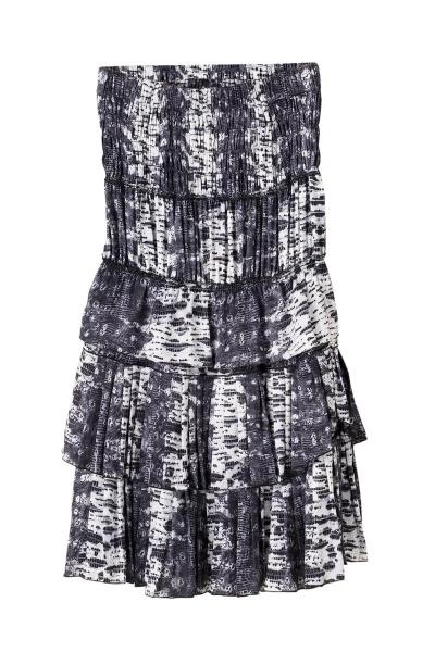vestido strapless con volantes (400x600)